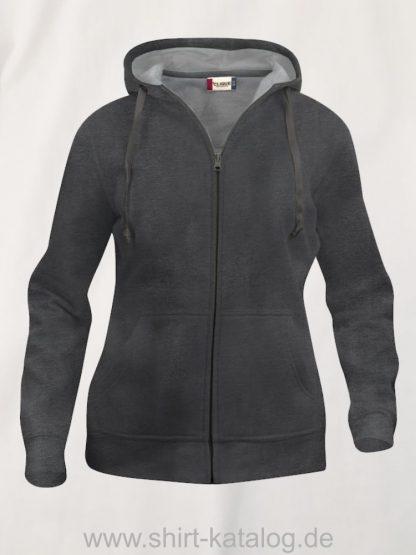021035-clique-basic-hoody-full-zip-ladies-anthrazit-meliert