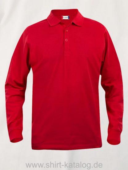 028233-clique-basic-polo-junior-longsleeve-red
