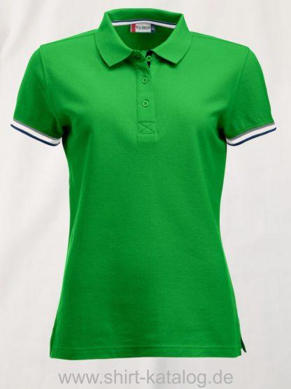 028239-clique-newton-polo-ladies-apple-green