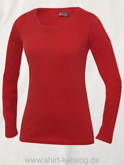 029319-clique-carolina-langarm-shirt-ladies-rot
