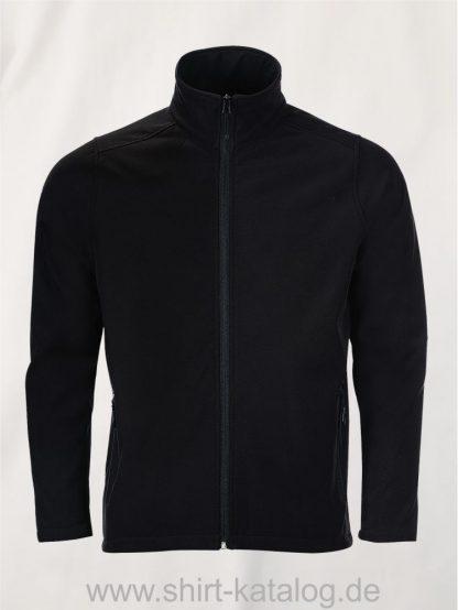10092-Sols-Mens-Softshell-Zip-Jacket-Race-black