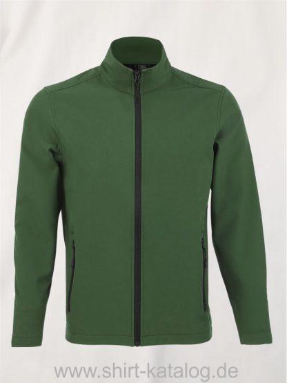 10092-Sols-Mens-Softshell-Zip-Jacket-Race-bottle-green