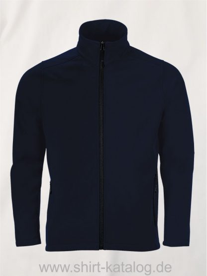 10092-Sols-Mens-Softshell-Zip-Jacket-Race-french-navy