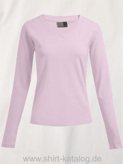10105-promodoro-womens-wellness-v-neck-t-longsleeve-3360-chalk-pink