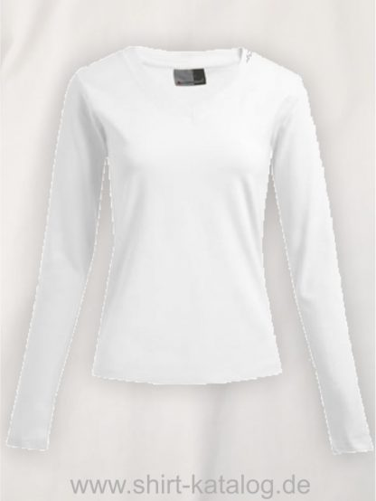 10105-promodoro-womens-wellness-v-neck-t-longsleeve-3360-white