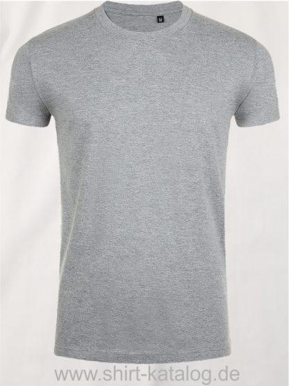 10160-Sols-Imperial-Fit-T-Shirt-Grey-Melange