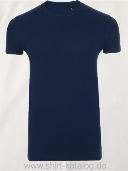 10160-Sols-Imperial-Fit-T-Shirt-Navy