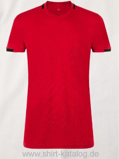 10183-Sols-Classico-Contrast-Shirt-Rot-Schwarz