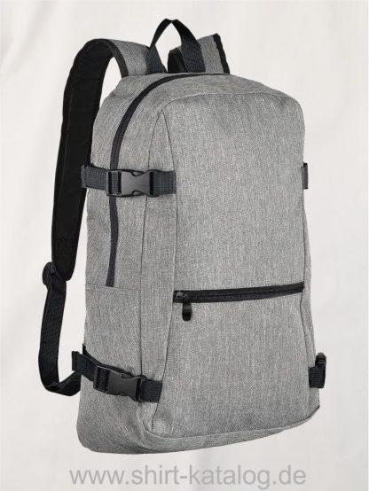 10626-Sols-Backpack-Wall-Street-grey-melange