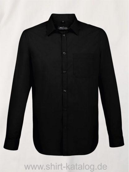 11510-Sols-Men-Baltimore-Fit-Shirt-black