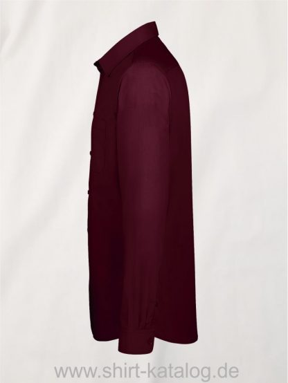 11510-Sols-Men-Baltimore-Fit-Shirt-medium-burgundy-side-view