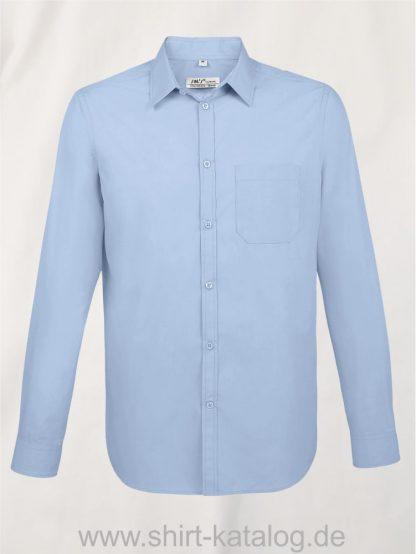 11510-Sols-Men-Baltimore-Fit-Shirt-sky-blue