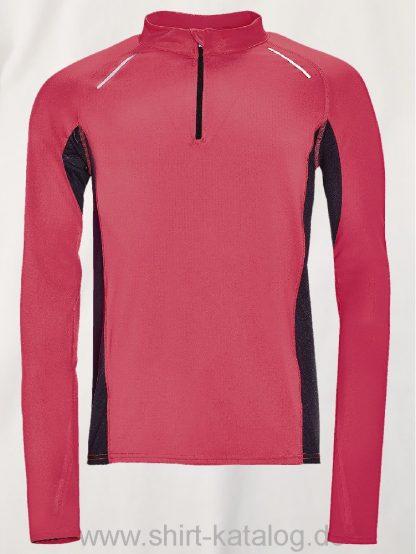 11518-Sols-Men-Long-Sleeve-Running-T-Shirt-Berlin-Neon-Coral