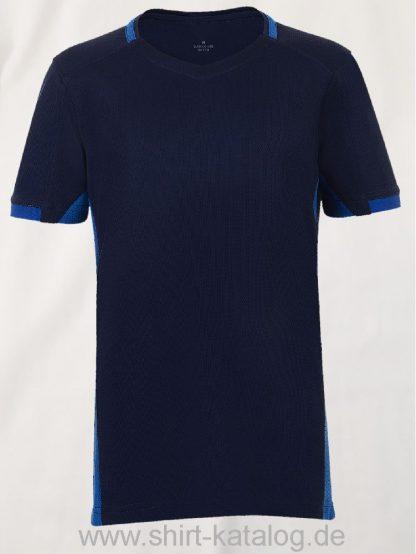 11531-Sols-Classico-Kids-Contrast-Shirt-Navy-Royal