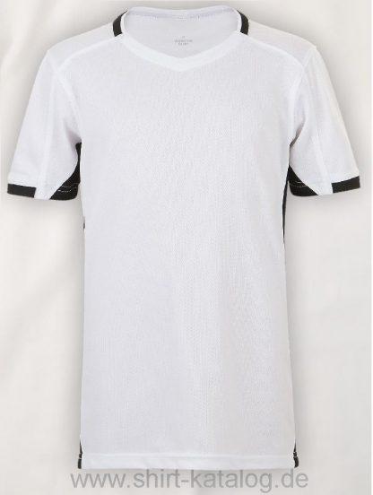 11531-Sols-Classico-Kids-Contrast-Shirt-White-Black