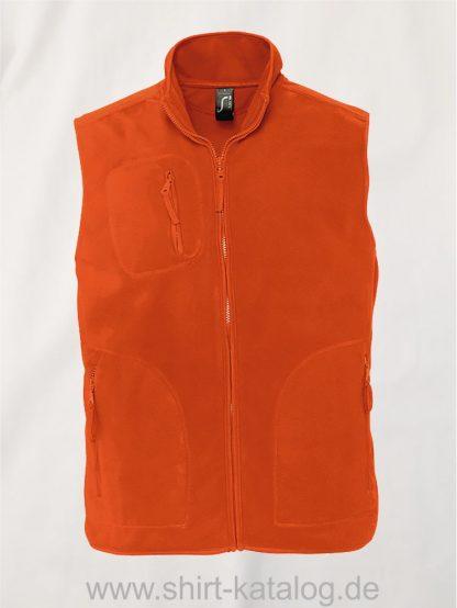 12691-Sols-Fleeceweste-Norway-orange