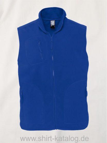 12691-Sols-Fleeceweste-Norway-royal-blue