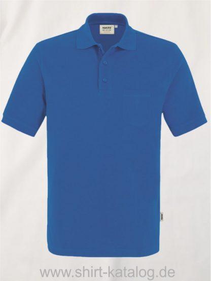 15864-Pocket-Poloshirt MIKRALINAR-812-ultramarineblau