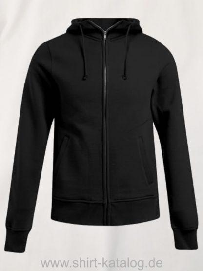 16583-promodoro-mens-hooded-jacket-black