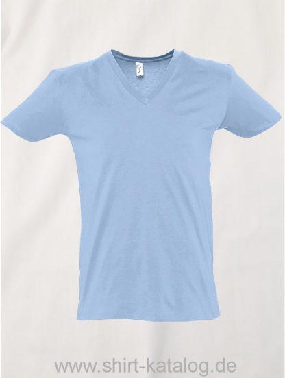 16798-Sols-Short-Sleeve-Tee-Shirt-Master-Hellblau