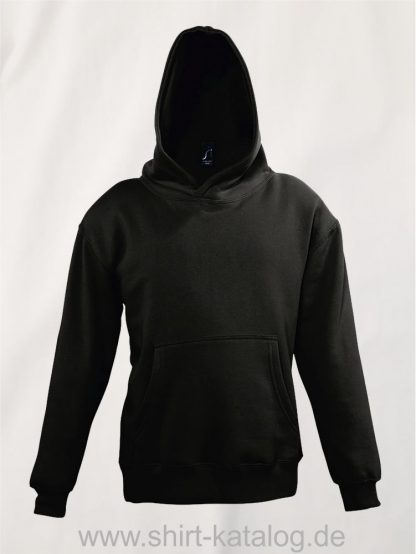 16853-Sols-Kids-Hooded-Sweat-Slam-black