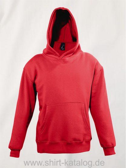 16853-Sols-Kids-Hooded-Sweat-Slam-red