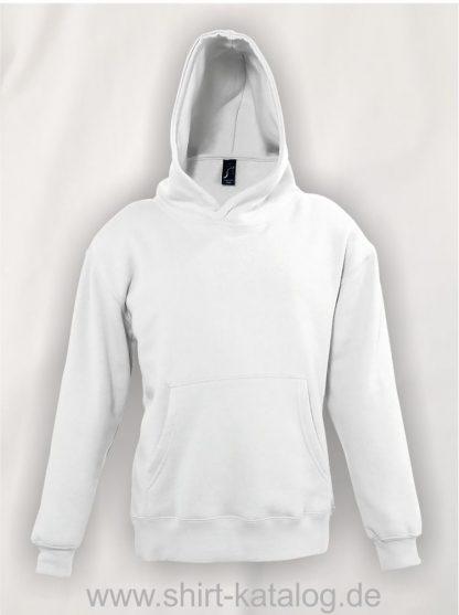 16853-Sols-Kids-Hooded-Sweat-Slam-white