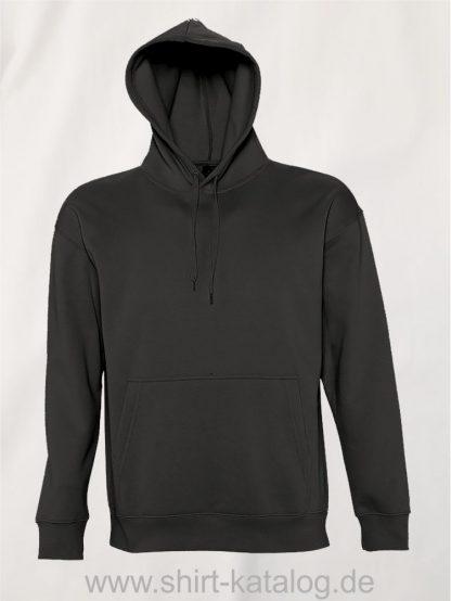 16863-Sols-Kapuzensweatshirt-Slam-dark-grey