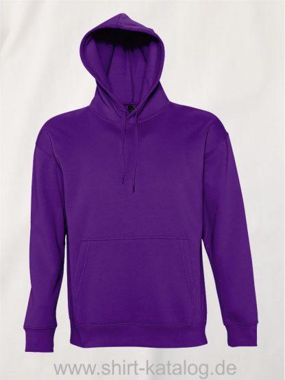 16863-Sols-Kapuzensweatshirt-Slam-dark-purple