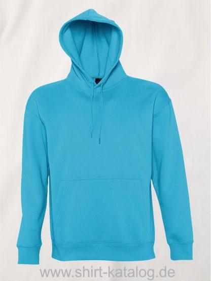 16863-Sols-Kapuzensweatshirt-Slam-turquoise