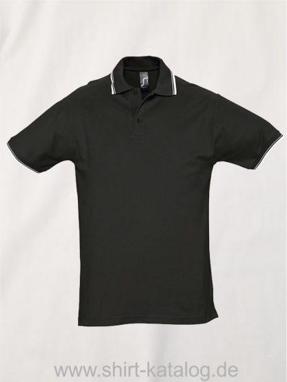 16901-Sol16901-Sols-Contrast-Poloshirt-blacks-Contrast-Poloshirt-black