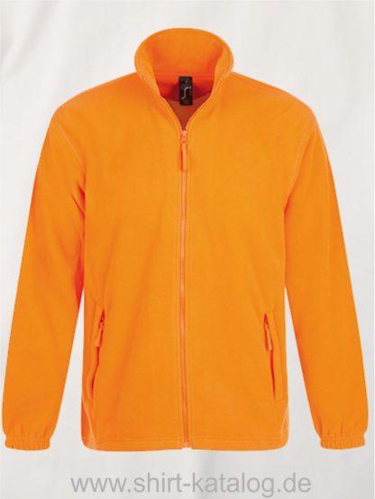 16926-Fleecejacket-North-neon-orange