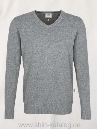 18385-hakro-v-pullover-premium-cotton-143-graumeliert