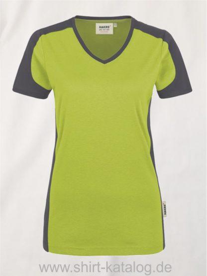 21327-hakro-women-v-shirt-contrast-mikralinar-190-kiwi-anthrazit