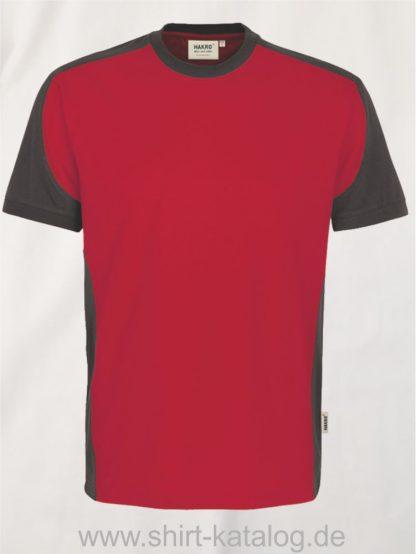 21328-hakro-t-shirt-contrast-mikralinar-contrast-290-rot-anthrazit