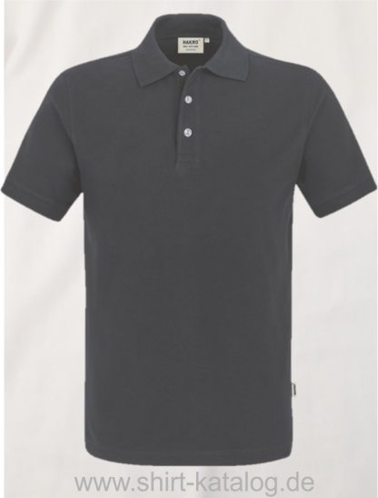 21344-Poloshirt Stretch-822-anthrazit