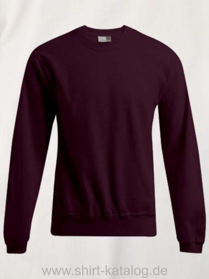 2199-promodoro-mens-sweater-80-20-burgundy
