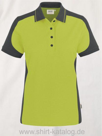 22297-hakro-Women-Poloshirt-Contrast MIKRALINAR-239-kiwi