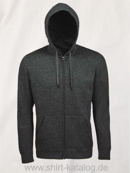 25846-Men-Hooded-Zip-Jacket-Seven-charcoal-melange