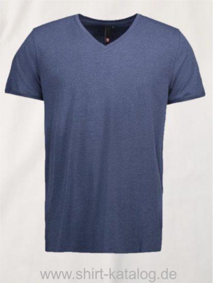 25934-ID-Identity-core-v-neck-tee-0542-blau-melange