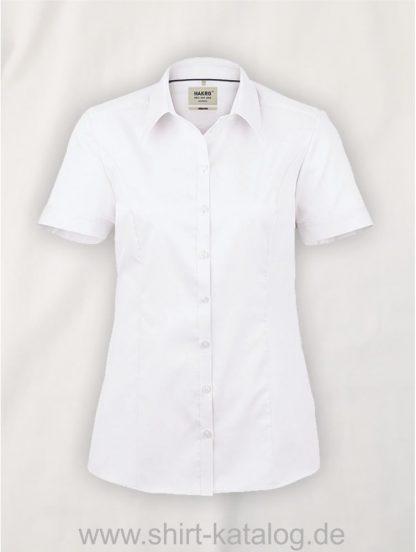 26877-Hakro-Bluse-½-Arm Business-112-weiß