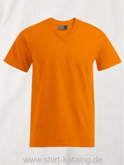27796-hakro-premium-v-neck-3025-orange