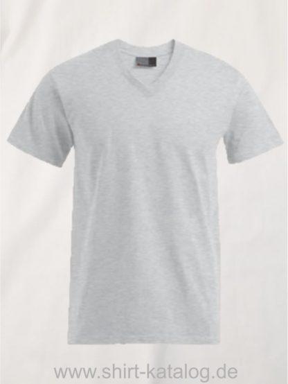 27796-hakro-premium-v-neck-3025-sports-grey