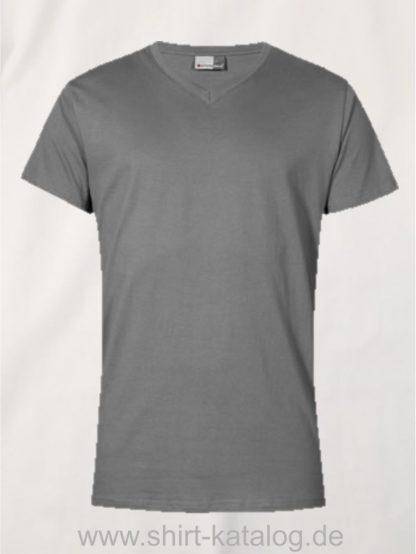 27796-hakro-premium-v-neck-3025-steel-grey