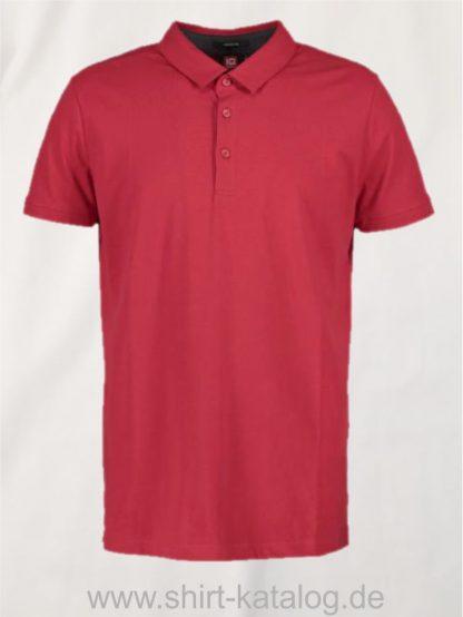 29334-ID-Identity-business-herren-poloshirt-stretch-0534-red