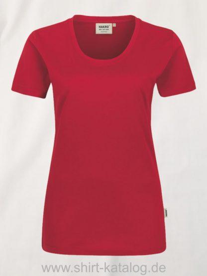 hakro-127-t-shirt-women-rot
