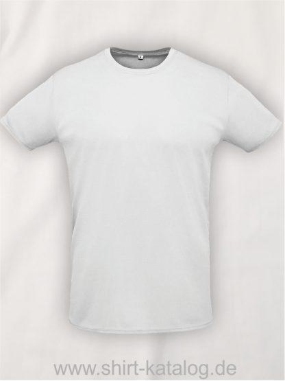 02995-Sols-Unisex-Sprint-T-Shirt-Weiss
