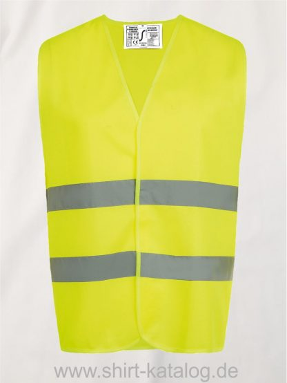 10107-Sols-Secure-Pro-Unisey-Safety-Vest-neon-yellow