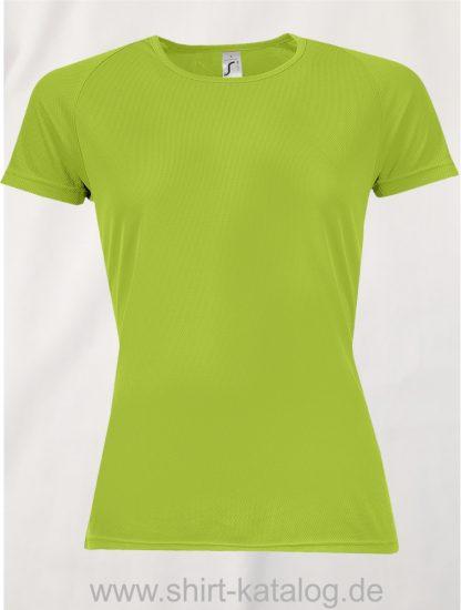 10182-Sols-Women-Raglan-Sleeves-T-Sporty-Apple-Green