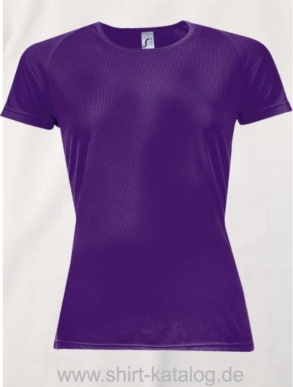 10182-Sols-Women-Raglan-Sleeves-T-Sporty-Dark-Purple